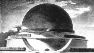 Boullée's Project for Newton's Cenotaph